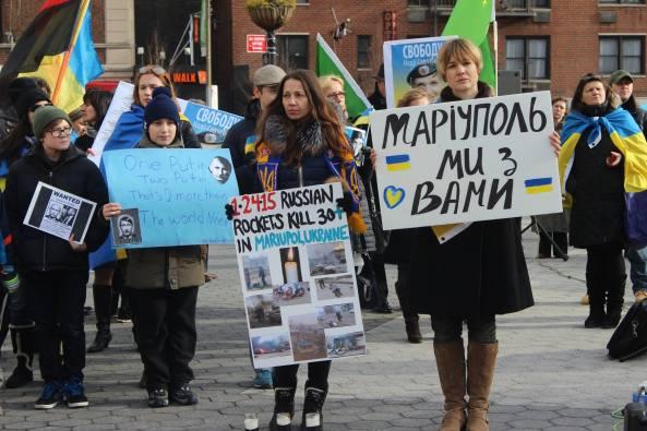 Марш в Нью Йоку